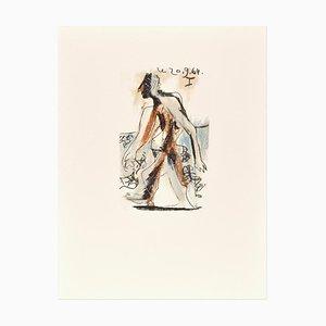 Le goût du Bonheur - 20.9.64 I - Original Lithograph After P. Picasso 1998