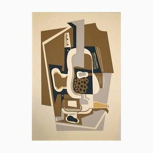 Compotier - Original Pochoir After Juan Gris - 1953 1953