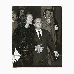 Truman Capote y Lee Radziwill - Foto vintage de Ron Galella - 1969 1969