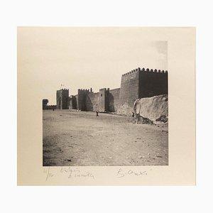 Eine Stadtmauer in Tunesien - Tunesiaca - Photolithographie von Bettino Craxi - 1996 1996