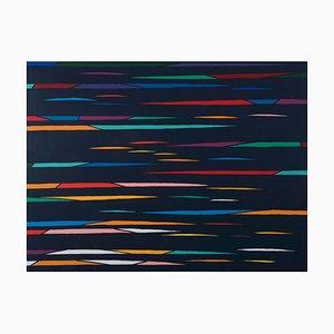 Litografía Abstract Line - Original de Piero Dorazio - 1976 1976