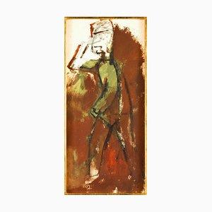 The Soldier - Original Tempera by M. Maccari - 1950s 1950s