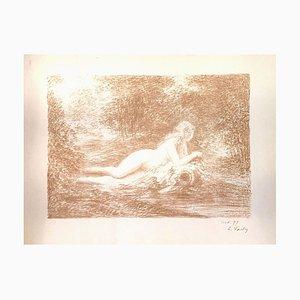 La Source dans les Bois - Original Lithograph by Henri Fantin-Latour - 1898 1898