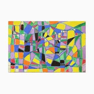 Bright Mosaic - Ölgemälde 2019 von Giorgio Lo Fermo 2019
