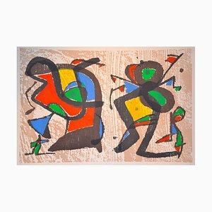 Séduction - Original Xilograph After J.Mirò - 1984 1984