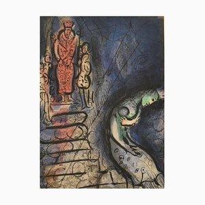 Achasverus schickt Vashti weg - von '' Illustrations for the Bible '' - 1960 1960