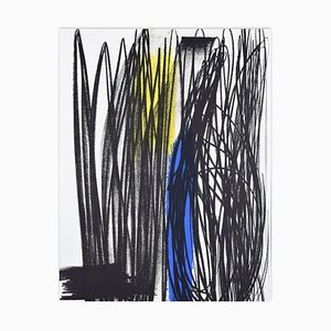 Influence - Original Lithograph by Hans Hartung - 1975 1975