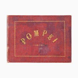 Pompei - Antikes Fotobuch mit Albumin Drucken - Um 1874 1874 ca.