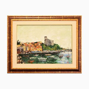 View Lerici - Original Oil on Canvas by Luciano Sacco - 1970s 1970s