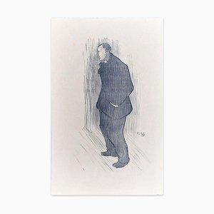 Mévisto - Original Lithografie auf Japanpapier von H.-G. Ibels - 1893 1893