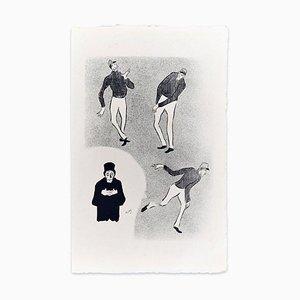 Ouvrard - Original Lithografie auf Japanpapier von H.-G. Ibels - 1893 1893