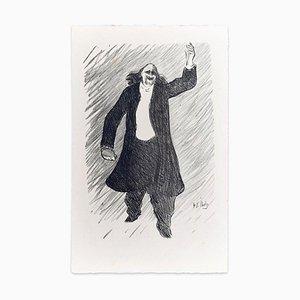Marcel Legay - Original Lithografie auf Japanpapier von H.-G. Ibels - 1893 1893