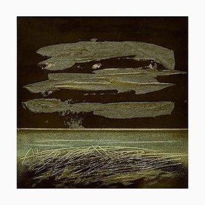 Landscape - Orginal Mixed Media by Mario Sinisca - 1960s 1960s