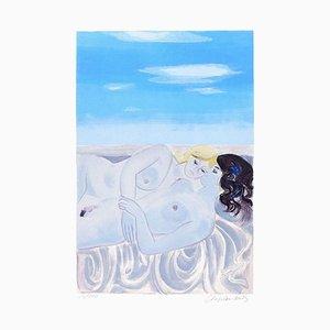 Lovers - Original Lithographie von R. Chapelain-Midy - 1970s 1970s