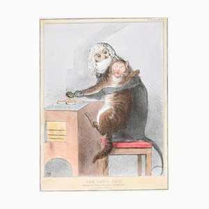 The Cat's Paw – Reform Bill! - Lithograph by J. Doyle - 1831 1831