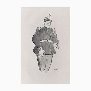 Polin - Original Lithograph on Japan Paper by H.-G. Ibels - 1893 1893