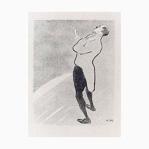 Kam-Hill - Original Lithografie auf Japanpapier von H.-G. Ibels - 1893 1893