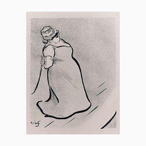 Jeanne Bloch - Original Lithografie auf Japanpapier von H.-G. Ibels - 1893 1893