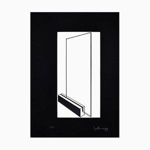 Glas - Original Lithographie von Ivo Pannaggi - 1975 ca. Ca. 1975