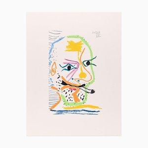 Le goût du Bonheur - 20.5.64 VII - Original Lithograph After P. Picasso 1998