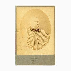 Portrait of Garibaldi - Original Albumen Print - 1874 1974