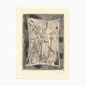 Sacred Composition - Original Radierung von Alfred Manessier - 1943 1943
