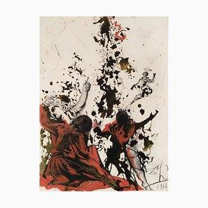Iesu Transfiguratio - Original Lithograph by S. Dalì - 1964 1964