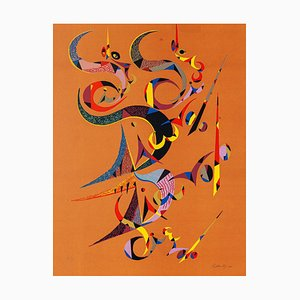 Composition - Original Lithographie von Raphael Alberti - 1972 1972
