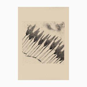 Shadow of Camels - Original Etching by Tullio Diamanti - 1980 ca. 1980 ca.