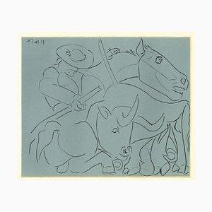 La Pique Cassée - Reproducción impresa de Pablo Picasso - 1962 1962