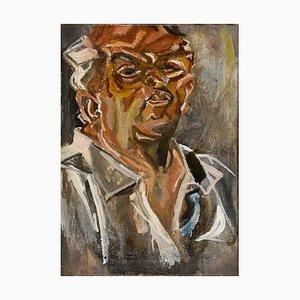 Self-Portrait - Öl auf Leinwand von Marco Di Stefano - 2000er 2000er