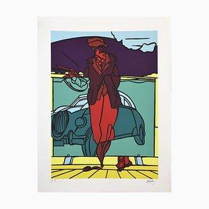 Untitled - Original Screen Print by Valerio Adami - 1996 1996