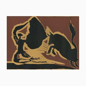 Farol - Original Linocut After Pablo Picasso - 1962 1962