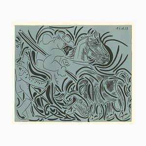 La Pique - Original Linolschnitt nach Pablo Picasso - 1962 1962