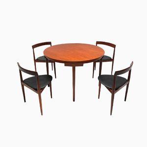 Table et Chaises de Salle à Manger Roundette par Frem Röjle