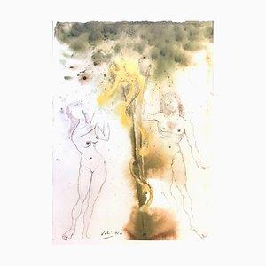 Peccatum ursprungs-Originale Lithographie von Salvador Dalì - 1964 1964