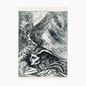 Philosopher's Stone - Original Etching by M. Chirnoaga - Late 20th Century Late 20th Century