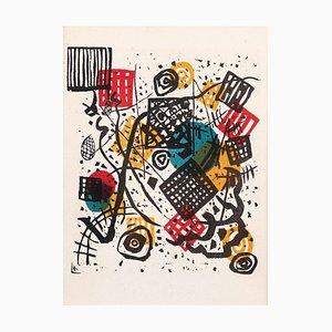 Lithographie Small Worlds V - Original W. Candinsky - 1954 1954