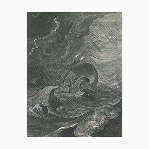 Castor et Pollux - Etching by B. Picart - 1742 1742