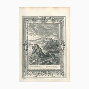 Glaucus, from ''Le Temple des Muses'' - Original Etching by B. Picart - 1742 1742