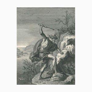 Les Alcyons - Original Etching by Bernard Picart - 1742 1742