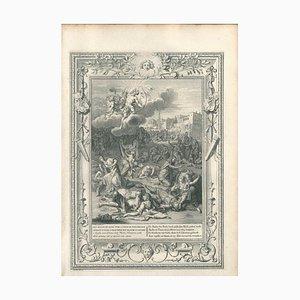 Les Enfants de Niobé - Etching by B. Picart - 1742 1742