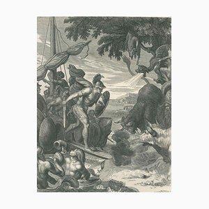 La Toison d'Or - Original Etching by B. Picart - 1742 1742
