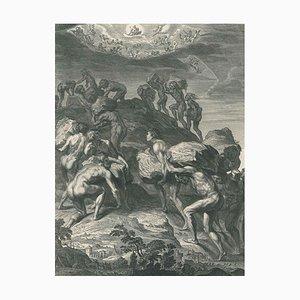 Les Géans - Original Radierung von B. Picart - 1742 1742