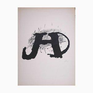 Untitled - Original Lithographie von Antoni Tapies - 1979 1974