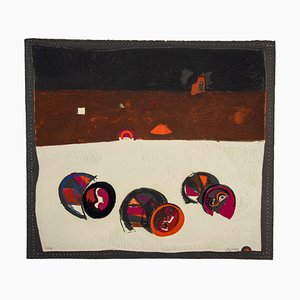 Composition - Original Radierung von José Ortega - 1969 1969