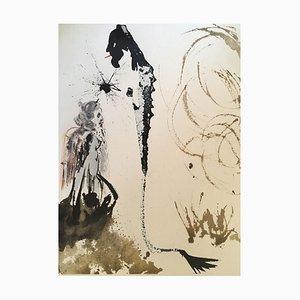 Idolum nomine Bel - Original Lithographie von S. Dalì - 1964 1964