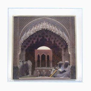Granada, Spain (Diorama) - Original Mixed Media - 2020 2020