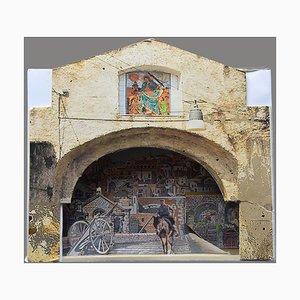 Matera, Italien - Original Mixed Media (Diorama) - 2019 2019