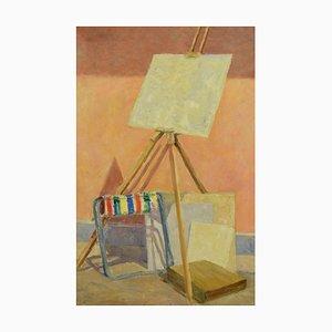 The Staffelei - Original Öl auf Leinwand von Paul Nicholls 1967 1967